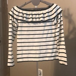 J crew off the shoulder sweater